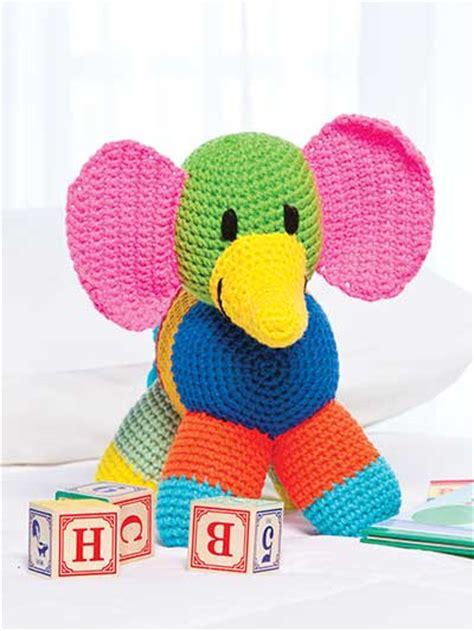 Patchwork Elephant Pattern - crochet dolls toys stuffed toys patchwork elephant