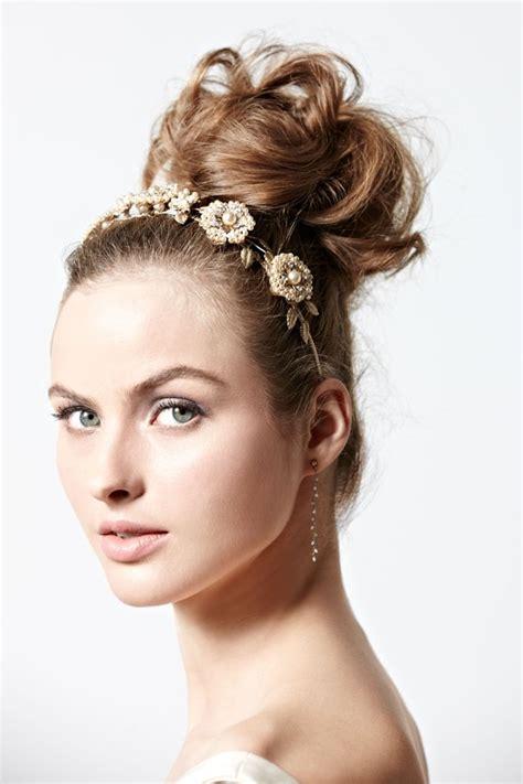 wedding day buns wedding hair beauty photos by bridal team wedding blog 5 bold beauty ideas for brides to be