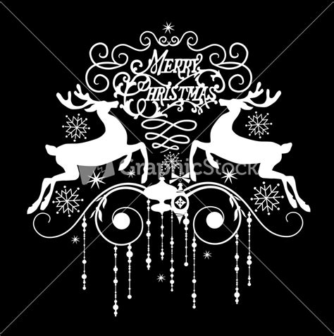 merry christmas card black and white www imgkid com