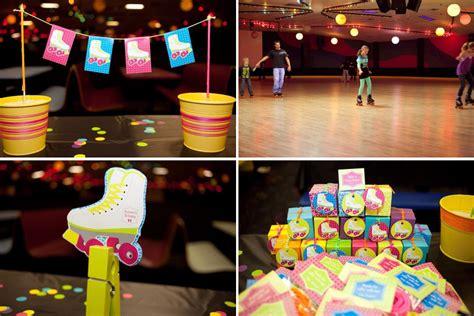 how to roller set a nine year old hair kara s party ideas neon roller skate disco teen tween 11th