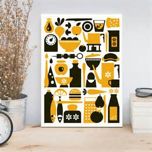 black and yellow kitchen decor restylegraphic