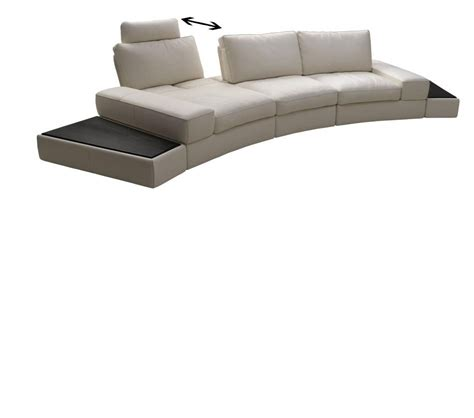 top grain leather sectional sofa dreamfurniture lilac white top grain leather