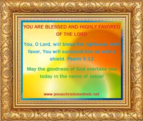 highly favored of the lord iv volume 4 books www jesuschristislordmdc net you are blessed highly