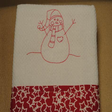 Handmade Tea Towels - handmade tea towel family net