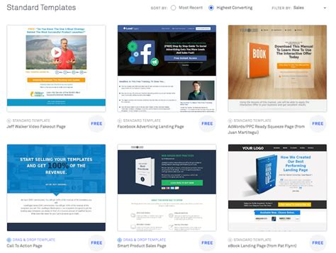 lead pages templates how to get your 100 email subscribers by using