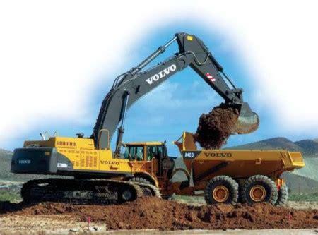 volvo ec blc excavator  motor graders