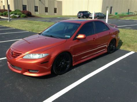 mazda 6 2004 model sell used 2004 mazda 6s sport model lowered and other