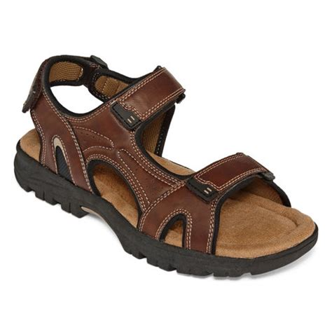 jcpenney mens sandals st johns bay trail river mens sandals from jcpenney