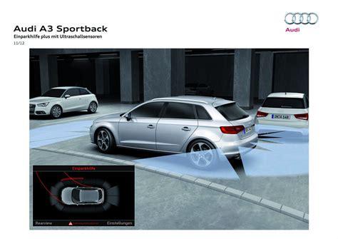 Audi Einparkhilfe Plus by Einparkhilfe Plus Quot F 252 Hrungslinien Quot Audi A3 8v 8va 8vs