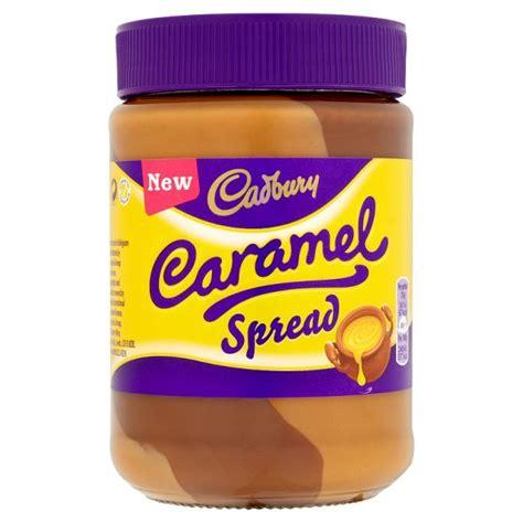 cadbury caramel crunchie milk chocolate spread 3 x 400g