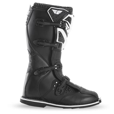mx boots fly racing mx motocross maverik mx boots black