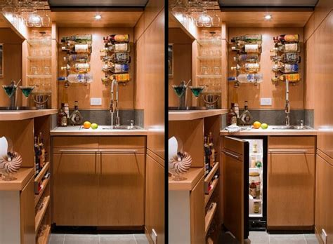 Home Bar Solutions 15 Attractive And Wise Storage Solutions For Every Part Of