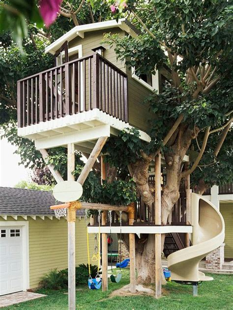 tree house swing every dream house has a tree house i love how it is all