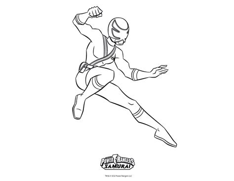 power rangers samurai coloring pages red free coloring pages of red samurai ranger