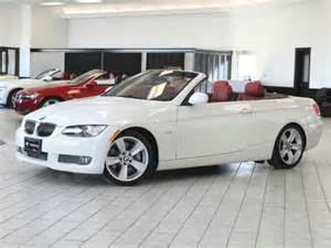 bmw 335i convertible white interior