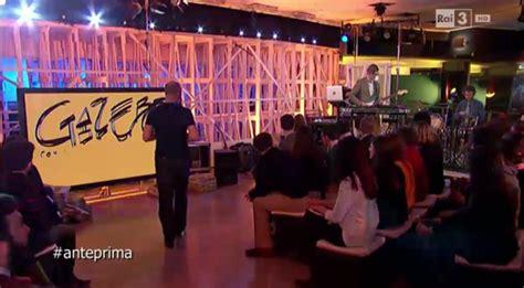 gazebo programma gazebo su 3 domenica 6 marzo rb