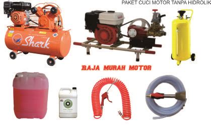 Alat Cuci Motor Tanpa Air usaha cuci motor raja murah motor