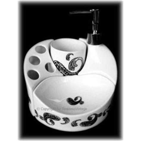 elegant home fashions neligh 4pc bathroom accessory set bathroom accessories french bathroom set