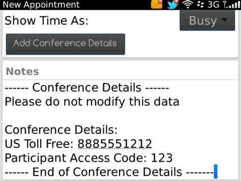 mobile conferencing releases blackberry mobile conferencing 2 0
