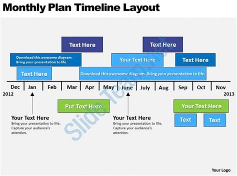 layout planning ppt business powerpoint exles plan timeline layout