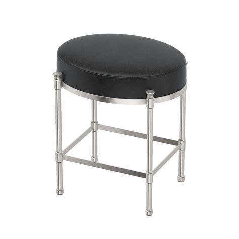 Delmar High Back Swivel Vanity Stool by Home Decorators Collection Delmar Tapestry Low Back Swivel