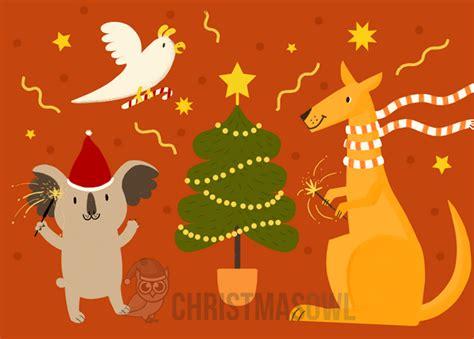 Printable Christmas Cards Australia | printable australian christmas card