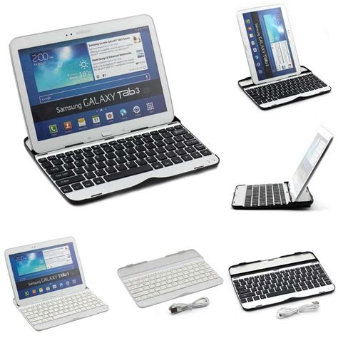 Samsung Tab 3 Warna Warni ultra slim wireless bluetooth keyboard dock for samsung galaxy tab 3 tab 4 10 1 quot p5200