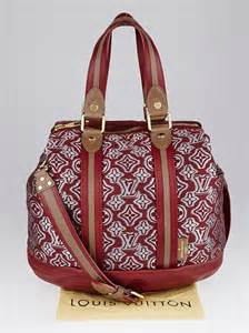 louis vuitton limited edition bordeaux jacquard monogram