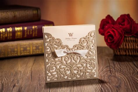 wedding card supplies staggering wedding invitation supplies only for you