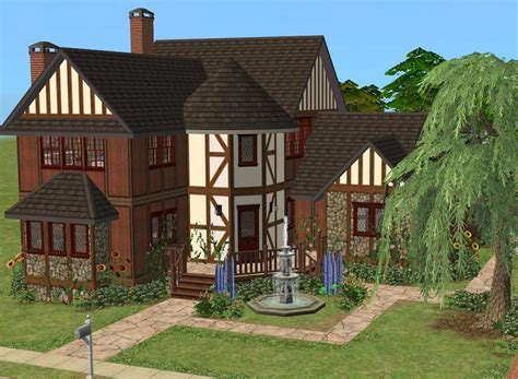 Tudor Mansion Floor Plans mod the sims wrexham manor an english country house