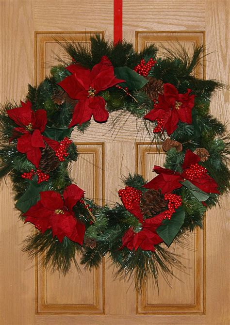 ways  decorate  home  christmas wreaths