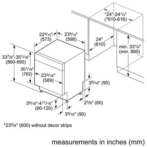 standard kitchen appliance dimensions how to measure your kitchen for a new dishwasher best