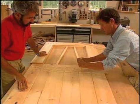 wooden exterior door plans  woodworking