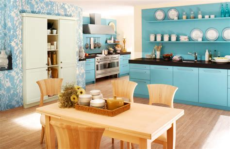 Interior Design Kitchen Colors Blue Color Kitchen Interior Design Ideas Home Office