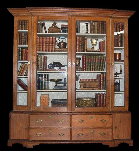 18th century english pine bookcase for sale antiques com
