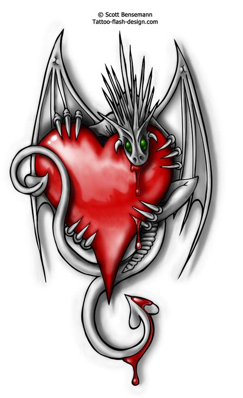 dragon flash tattoo designs images designs