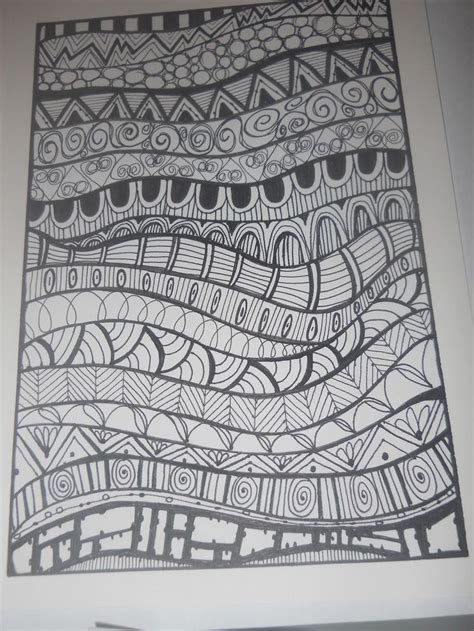 doodle patterns to draw 25 best ideas about zentangle patterns on