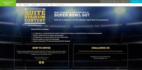 Courtyard By Marriott Nfl Sweepstakes - suitestadiumcontest com courtyard s suite stadium contest and sweepstakes
