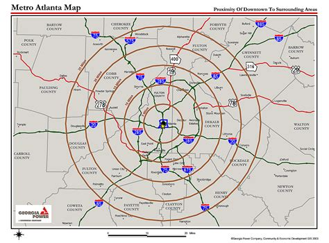 atlanta map in us atlanta metro proximity ring map atlanta mappery