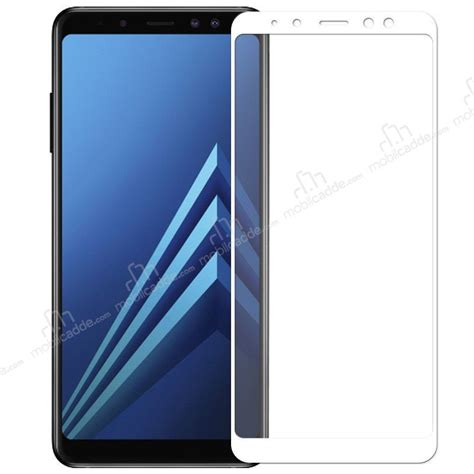 Galaxy A8 Colorful Tempered Glass Gold dafoni samsung galaxy a8 plus 2018 curve tempered glass