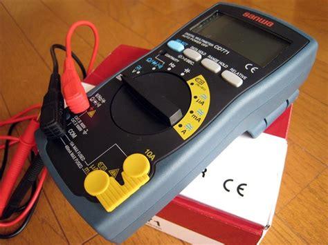 impa 795754 compact system digital multi tester sanwa cd771
