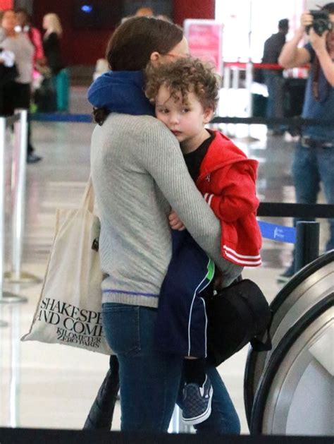 Natalie Portman Is Open To A Affair by Natalie Portman And Adorable Aleph Catch A Plane