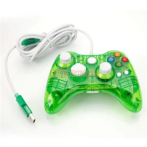 Diskon Replacement Right Left Interface Stick Xbox green afterglow wired controller gamepad for microsoft