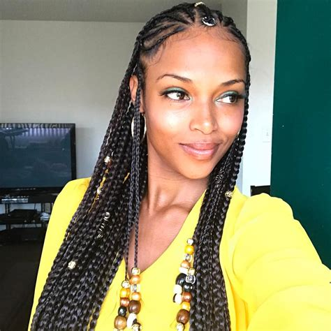 Hairstyles With Braids For Black by The Top 10 Summer Braid Hairstyles For Black Mane Guru