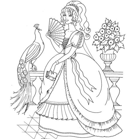 coloring pages princess pdf princess coloring pages pdf coloring home