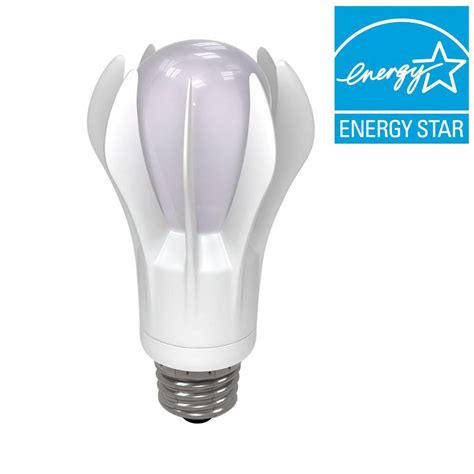 ge led replacement christmas bulbs ge 75w equivalent soft white 2700k a19 omni directional dimmable led light bulb 13884 the