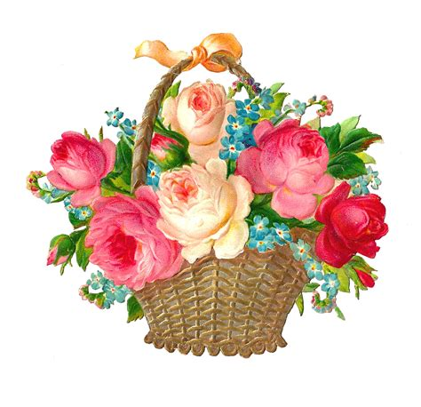 clipart png gift clipart flower basket pencil and in color gift