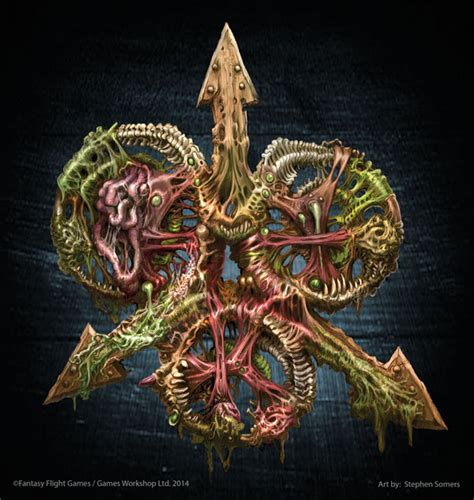 nurgle symbol stephen somers by stephensomers on deviantart
