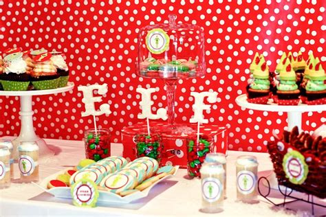 themes about christmas buddy the elf themed brunch party by deliciously darling