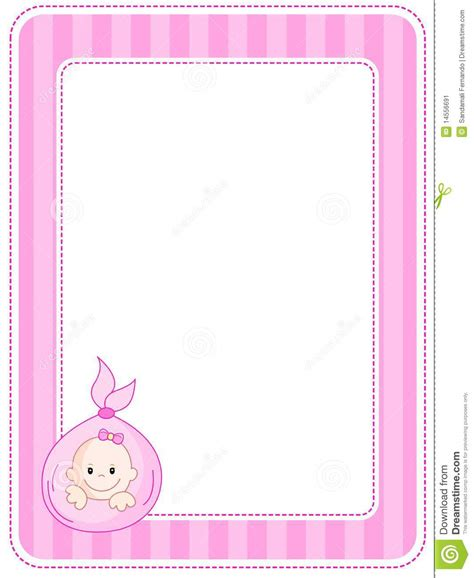baby thesis abstract baby border frame stock vector illustration of edge